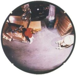 "Convex Mirror 36"" Indoor Glass"