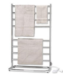 Satin Nickel Hyde Park Towel Warmer
