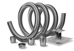 Selkirk Model VP Pellet Pipe Insert (Flex) Kit - 35'