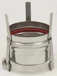 "Saf-T Vent 4"" Rheem Appliance Adapter"