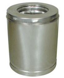 """Supervent 8"""" x 12"""" Class A Stainless Steel Chimney Pipe"""