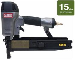 "SENCO® 2-1/2"" 14-Gauge 34-Degree Electro Galvanized Angled Finish Nailer"