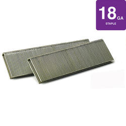 "SENCO® 1/4"" Crown x 3/8"" Leg 18-Gauge Galvanized Staples"