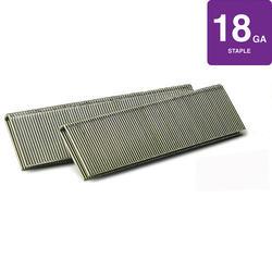 "SENCO® 1/4"" Crown x 3/4"" Leg 18-Gauge Bright Basic Staples with Sencote® Coating"