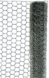 2' x 50' Galvanized Hex Netting