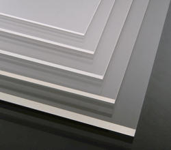 "Shape Products 0.220"" x 36"" x 72"" Clear Colorless Acrylic Sheet"