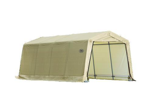 Menards Portable Garages : Shelterlogic autoshelter instant garage