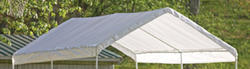 ShelterLogic® Max AP™ 10' x 20' Replacement Canopy Cover, White (Fits frame styles 31757, 25757, 30522, 23522)