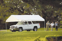 ShelterLogic® Max All-Purpose 10' x 20' Canopy 6-Leg, White