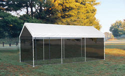ShelterLogic® Max AP™ 10' x 20' Canopy Screen Kit, Black (Fits frame styles 31757, 25757, 30522, 23522, 23571)