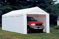 ShelterLogic® Max AP™ 10' x 20' Canopy Enclosure Kit, White (Fits frame styles 31757, 25757, 30522, 23522)