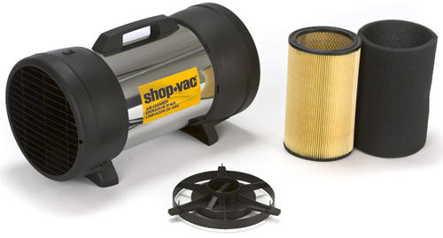Portable Air Cleaning System : Shop vac air cleaner filtration system at menards