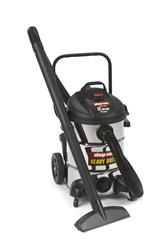 Shop-Vac® 12-Gallon Stainless Steel Wet/Dry Vacuum on Cart