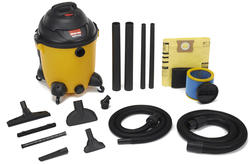 """Shop-Vac® 12-Gallon Wet Dry Vacuum with 1.25"""" and 2.5"""" Hoses"""