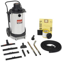Shop-Vac® 20-Gallon Stainless Steel Wet Dry Vacuum on Cart