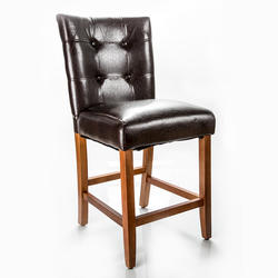 Designer's Image™ Richmond Counter Height Faux Leather Stool