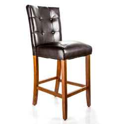 Designer's Image™ Richmond Bar Height Faux Leather Stool
