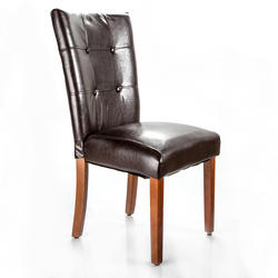 "Designer's Image™ Richmond Faux Leather Dining Chair with 18"" Seat Height"