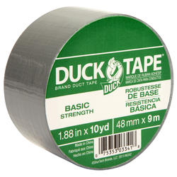 """Duck Tape 1.88"""" x 10-yd Utility-Grade Duct Tape"""
