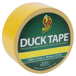 "Duck Tape 1.88"" x 20-yd Yellow All-Purpose Duct Tape"