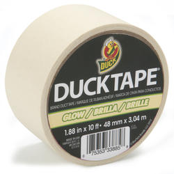 "Duck Tape 1.88"" x 10' Glow-in-the-Dark Duct Tape"