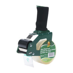 "Duck Packaging Tape Gun Dispenser with 1.88"" x 54.6-yd Roll"