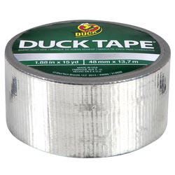 "Duck Tape 1.88"" x 15-yd Chrome Duct Tape"