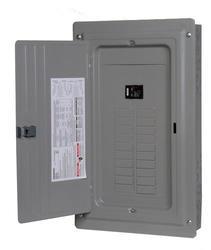 Siemens 20 space, 20 circuit, 100A, main breaker, indoor, value pack