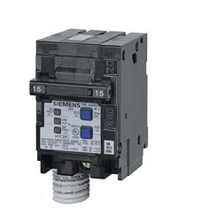 Siemens Q215AFC 15A, 2 Pole, Arc Fault Circuit Interrupter