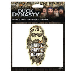 "Duck Dynasty ""HAPPY, HAPPY, HAPPY!"" Decal"