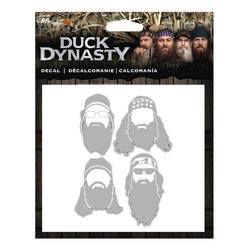Duck Dynasty Silhoutte Window Decal