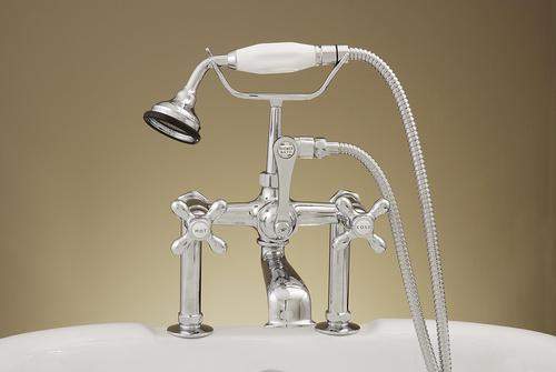 deck mount tub faucet at menards