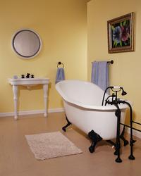 The Lucerne 5' Cast Iron Slipper Tub