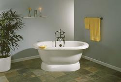 The Sonoma 5' Acrylic Dual Tub w/Faucet Holes