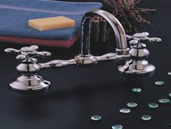 """8"""" Columbia Faucet Set with Gooseneck Spout"""