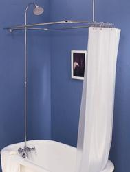 Leg Tub Shower Enclosure Set