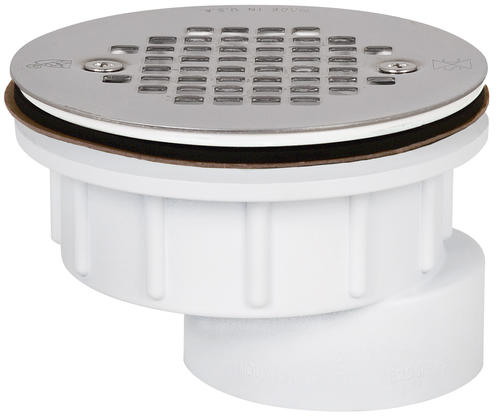 Offset Shower Module Drain At Menards®