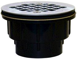 "2"" Screw-On 18-Gauge Strainer ABS"
