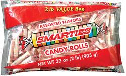 Smarties Candy Rolls - 2 lb