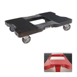 Snap-Loc® Black E-Track Dolly - 1,500 lb. Capacity & Optional Strap Attachment