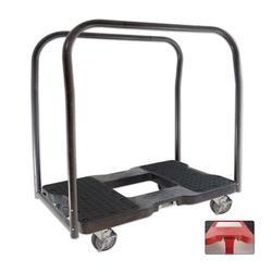 Snap-Loc® Black E-Track Panel Cart Dolly - 1,500 lb. Capacity & Optional Strap Attachment