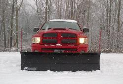 "SnowBear® 84"" x 22"" Personal Use Snowplow"