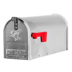 Gibraltar Industries® Albany Standard Size Aluminum Post-Mount Mailbox