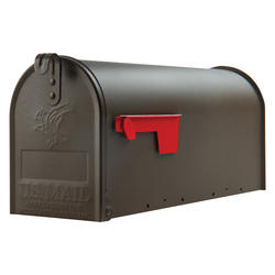 Gibraltar Industries® Elite Standard Size Galvanized Steel Rural Mailbox