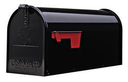 Gibraltar Industries® Elite Standard Size Galvanized Steel Rural Mailbox