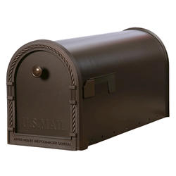 Gibraltar Industries® Designer Post-Mount Mailbox with Decorative Frame