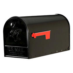 Gibraltar Industries® Elite Plus Post-Mount Mailbox with Rear Access Door