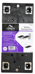 Gibraltar Industries® Black Plastic Universal Mailbox Mounting Board