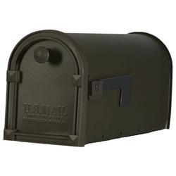 Post Master® Trenton Steel Post-Mount Mailbox