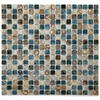 "Solistone Vale 12"" x 12"" Terrene Glazed Porcelain Mosaic (10 sq.ft/pkg)"